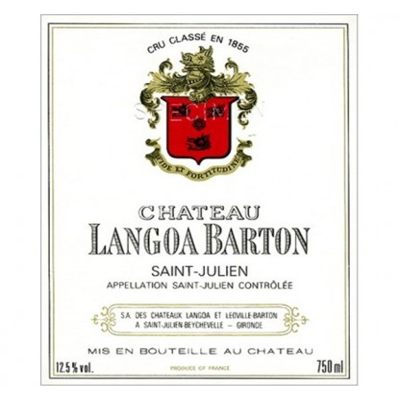 chateau langoa barton 2013