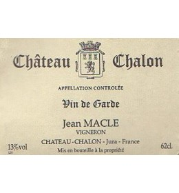 jean macle chateau chalon 1981