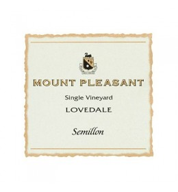 mount pleasant lovedale semillon 2011