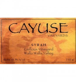 cayuse casmapelo 2010 (available end juny 2020)
