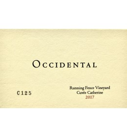 occidental running fence cuvee catherine 2017 (available juny 2020)