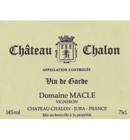 jean macle chateau chalon 2009