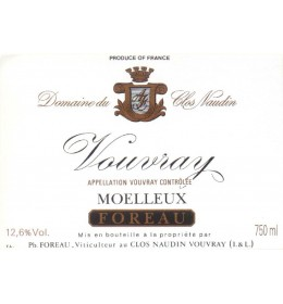 philippe foreau moelleux reserve 2015