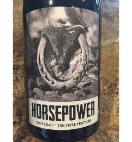 horsepower the tribe vineyard syrah 2015 (available maig 2019)