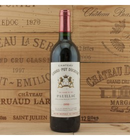 chateau grand puy ducasse 1990