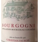 christian faurois bourgogne rouge 2014