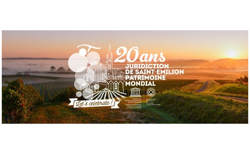 Saint Emilion, the first vineyard listed by UNESCO as a World Heritage Site, celebrates its 20th anniversary.