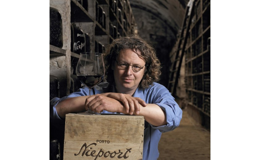 an emblematic figure in the wine sector in Portugal, DIRK NIEPOORT