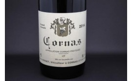 Alain Verset and the Cornas black wine